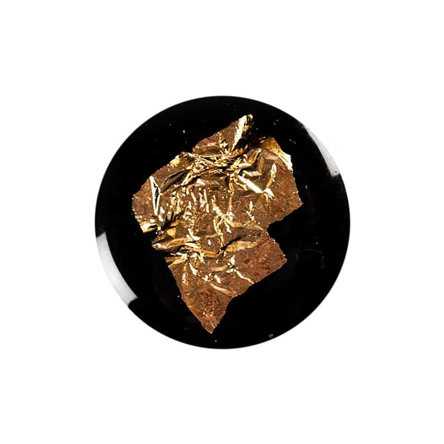 abstract gold leaf